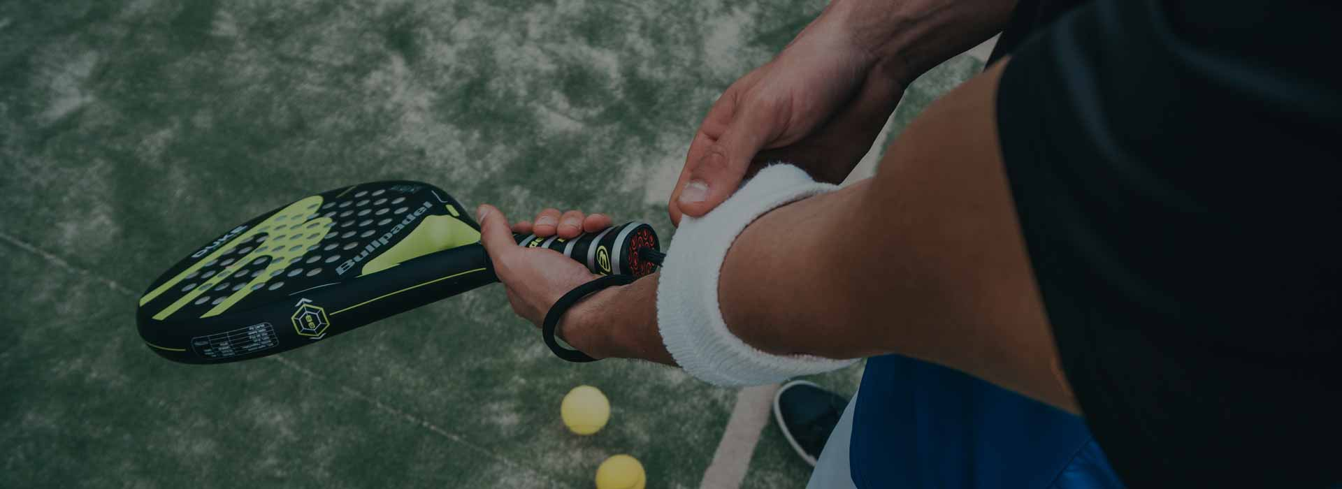 Tennis player adjusting sweat band - Dr. Herbert Gates III M.D. - Orthopedic Surgeon in Naples, Florida